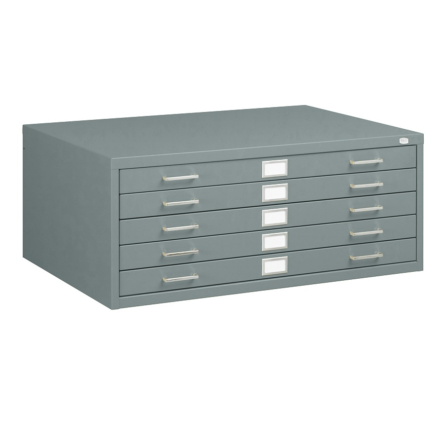 Safco 24 Quot X 36 Quot 5 Drawer Flat File 4994