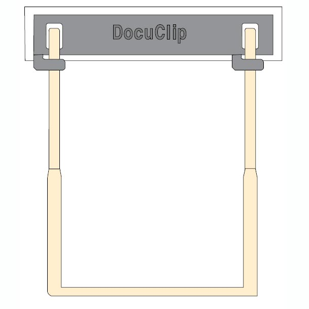 DocuClip File Fastener, Carton of 100