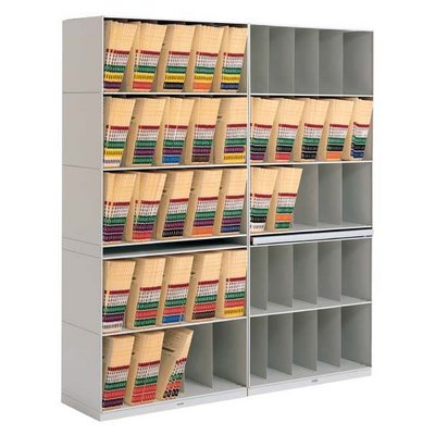 Jeter Stax X-Ray Shelving