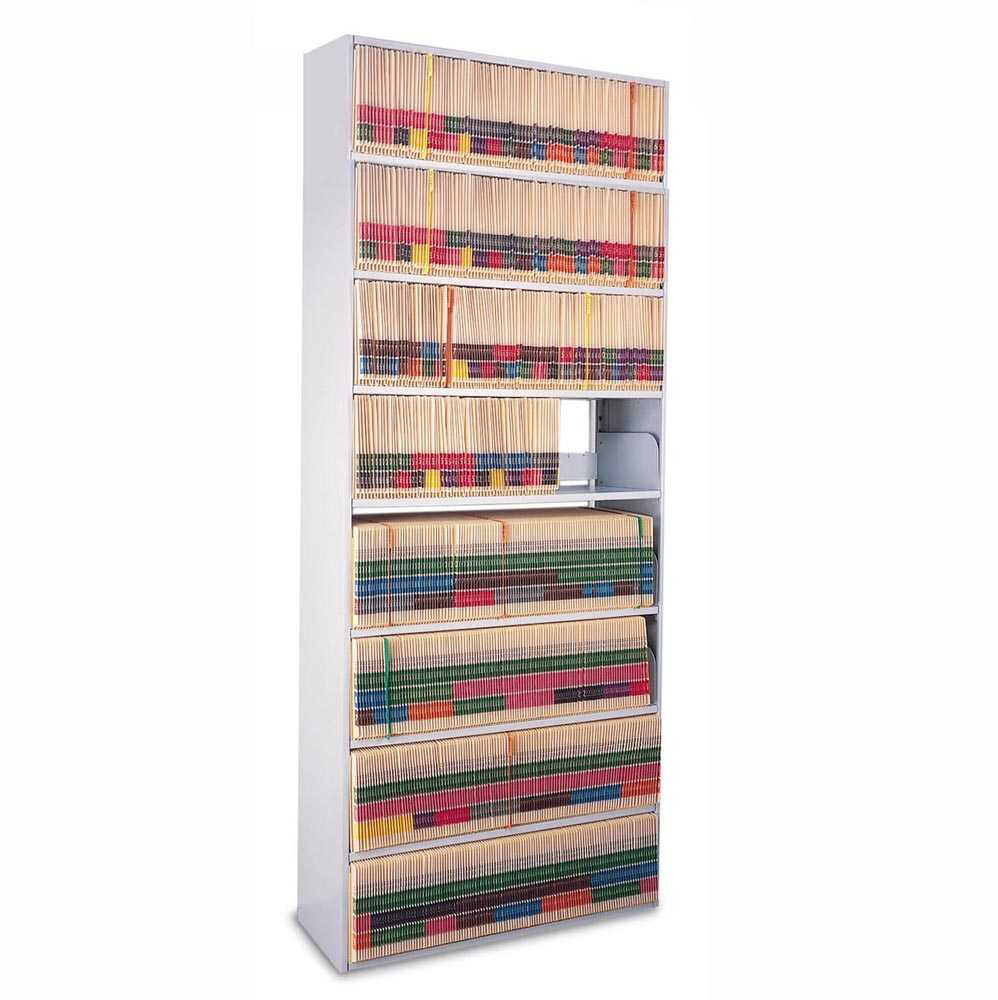 "Mayline 8-Tier 86""H Open Medical Shelving (Legal)"