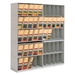 6-Tier Stax X-Ray Shelving - J1720-6Tier