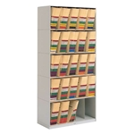 5-Tier Stax X-Ray Shelving