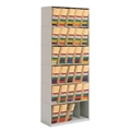 6-Tier Stax X-Ray Shelving