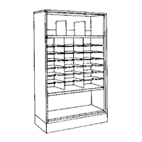 Mayline Forms Storage Cabinet Config. A