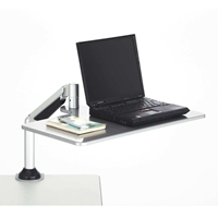 Desktop Sit/Stand Laptop Workstation sit stand workstation; sit to stand; standing desk; adjustable height; active office; desk accessory; desk accessories; personal workstation; sit to stand workstation; ergonomics; office; home office; monitor stand; computer workstation; laptop workstation
