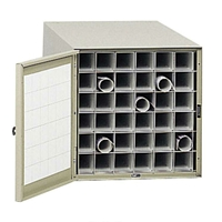 4962 : safco steel Roll Files 36 Compartments