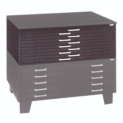 1j100 Mayline Hamilton Unit System 10 Drawer Flat File For 24 X 36