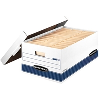 Stor-File Storage Boxes- Legal, Carton of 12