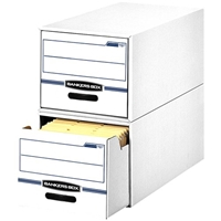 Stor-Drawer Storage Drawers - Legal, Carton of 6