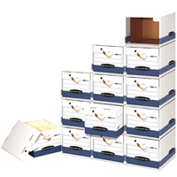 File/Cube Box Shell - Letter/Legal, Carton of 6