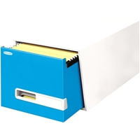 "24""D Stor/Drawer Premier - Letter, Blue, Carton of 5"