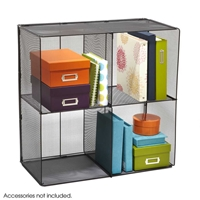 2172BL : Safco Onyx Mesh Cubes