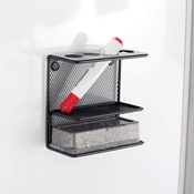 Onyx Mesh Marker Holder with Shelf