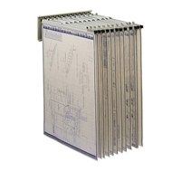5016 : safco Pivot Wall Rack