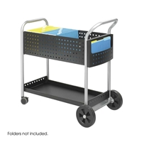 Scoot Mail Cart Cart; Carts; Mail cart; Office furniture; Mailroom furniture; Scoot mail cart; Mailroom cart; Mail room cart; Mail room furniture; Delivery cart; Mail delivery cart; Black cart; Black carts; Black mail cart; Black office furniture