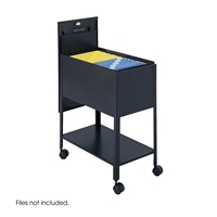 5362 : Safco Extra Deep Locking Tub Files withShelf - Letter