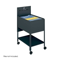 5363 : Safco Extra Deep Locking Tub Files withShelf - Legal