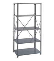 Commercial Steel Shelving 36 x 24, 5 Shelf Kit   Industrial shelving; Industrial storage shelving; Industrial backroom shelving; Industrail back room shelving; Steel shelving; Storage shelving; Extra strength steel shelving; Garage storage; Backroom storage; Backroom shelving; Backroom organziation; Back room storage; Back room shelving; Back room organziation; Facility maintenance; Heavy duty steel shelving
