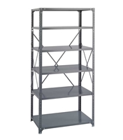 Commercial Steel Shelving 36 x 24, 6 Shelf Kit   Industrial wire shelving; Industrial wire storage shelving; Industrial backroom shelving; Industrail back room shelving; Steel shelving; Storage shelving; Extra strength steel shelving; Garage storage; Backroom storage; Backroom shelving; Backroom organziation; Back room storage; Back room shelving; Back room organziation; Facility maintenance; Heavy duty steel shelving