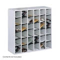 36 Comp. Wood Mail Sorters Cubbies; Mail box; Mail organizer; Mail sorter; Mail room furniture; Mailroom sorter; Mailroom furniture; Mailbox; Mailroom organizer; Mail organizer; Black office furniture