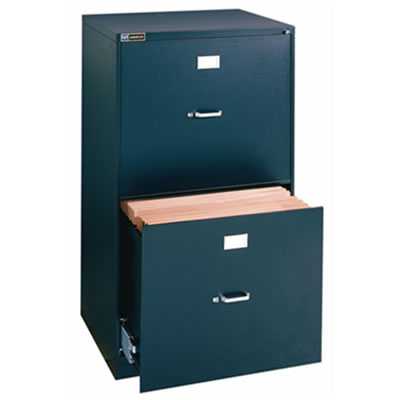 "18"" x 24"" 2-Drawer File with Lock"